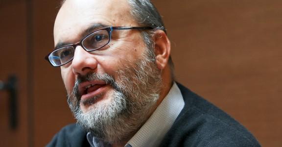 Lisboa, 10/02/2012: Hoje à tarde, Entrevista com Branko Milanovic economista chefe do Banco Mundial.  (José Carlos Pratas / Global Imagens)